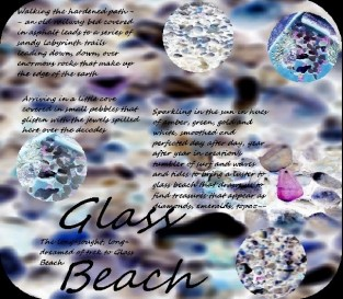 Glass Beach Poem and Design