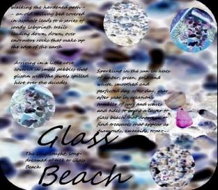 Glass Beach Poem and Design